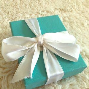 Empty Tiffany's box
